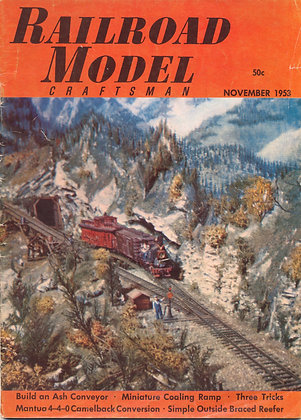 Railroad Model Craftsman, November 1953
