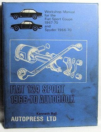 FIAT 124 SPORT 1966-1970 AUTOBOOK