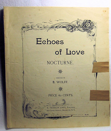 Echoes of Love NOCTURNE 1897