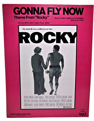 "GONNA FLY NOW (Theme From ""Rocky"") 1977"