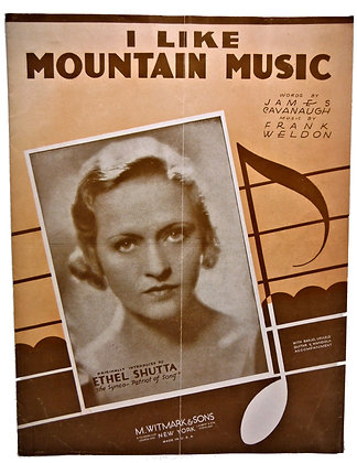 I Like Mountain Music 1933