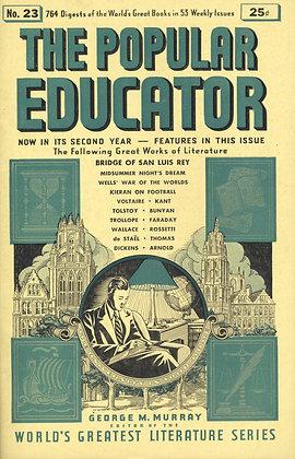 POPULAR EDUCATOR (#23, Second Year, 1940) BRIDGE OF SAN LUIS REY
