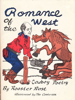 Romance of the West (Cowboy Poetry) Signed 1990