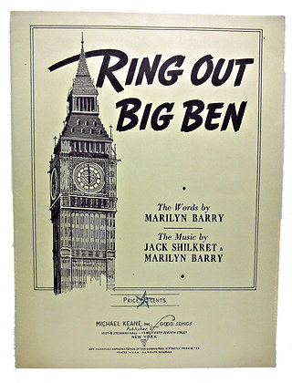 Ring Out Big Ben Marilyn Barry 1943