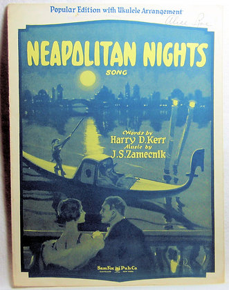 NEAPOLITAN NIGHTS 1925