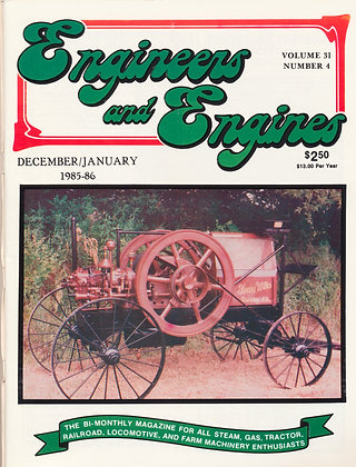 Engineers & Engines, Dec.-Jan. 1985-86