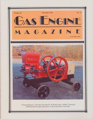 Gas Engine Mag.  November 1993