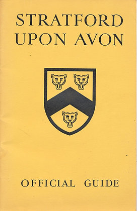 Sratford-Upon-Avon Official Guide 1958