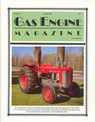 Gas Engine Mag.  March 1996