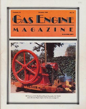 Gas Engine Mag.  October 1989