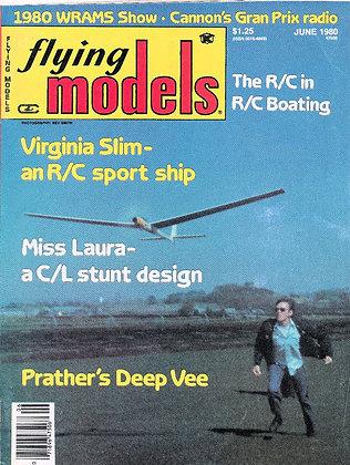Flying Models (June 1980)