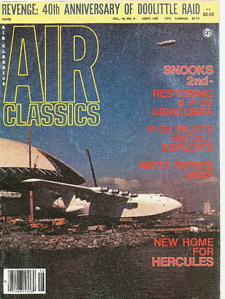 Air Classics June 1982