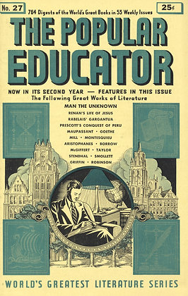 POPULAR EDUCATOR (#27, Second Year, 1940) MAN THE UNKNOWN