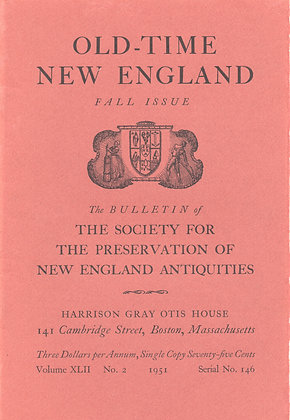 Old-Time New England Fall 1951