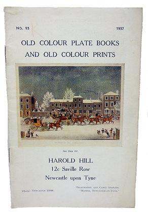 Harold Hill Catalog No. 93 - 1937