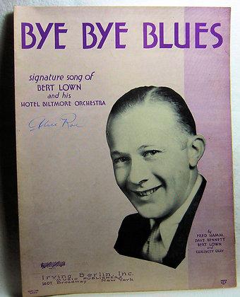 BYE BYE BLUES 1930