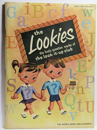 The Lookies: the lively question marks of the look-it-up club 1960 activity book