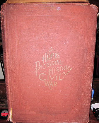 HARPER'S Pictorial History of the Civil War (2 Vol. set) 1866-68