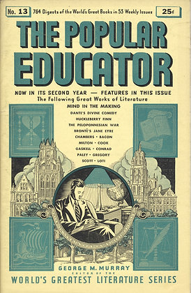 POPULAR EDUCATOR (#13, Second Year, 1939) MIND IN THE MAKING
