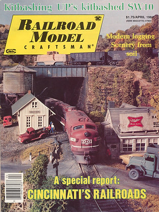 Railroad Model Craftsman, April 1984