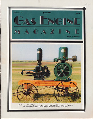 Gas Engine Mag.  June 1988