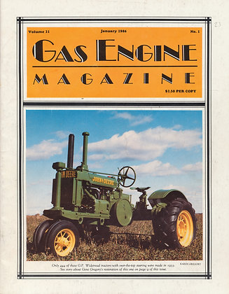 Gas Engine Mag.  January 1986