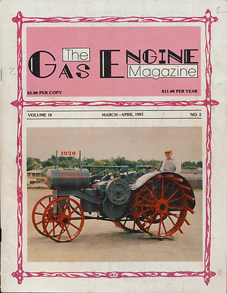 Gas Engine Mag.  March-April 1983