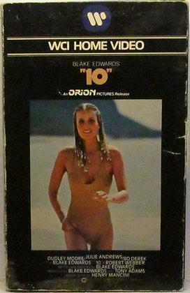 "BLAKE EDWARDS, ""10"" (Bo Derek, Dudley Moore) VHS Movie 1980"