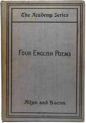 Four English Poems by Allyn & Bacon 1897
