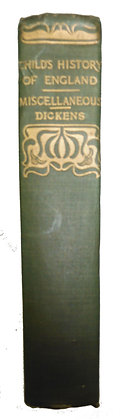A Child's HISTORY OF ENGLAND by Dickens (ca. 1910)