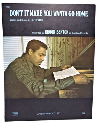 Don't it Make You Wanta Go Home 1969