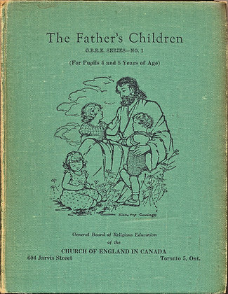 The Father's Children, Teacher's Manual for age 4 & 5 (ca. 1920)