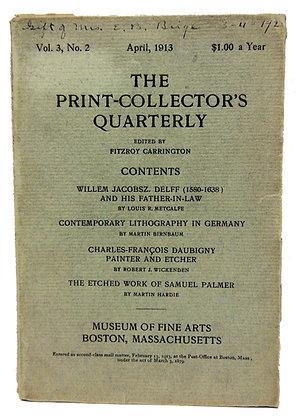 Print Collector's Quarterly April 1913