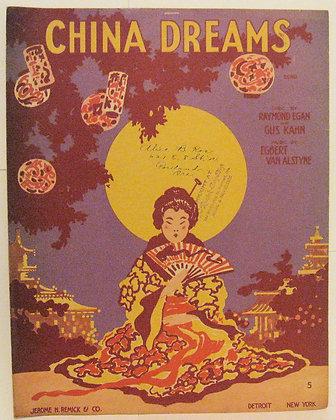CHINA DREAMS RAYMOND EGAN 1917