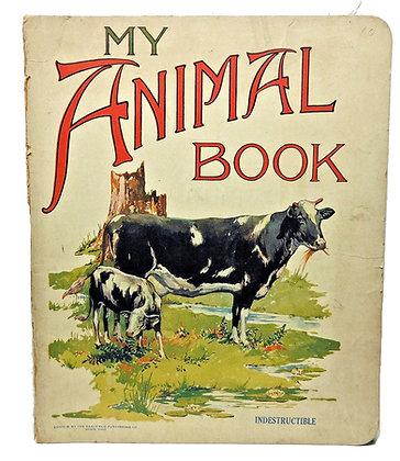 My Animal Book & ABC's (ca. 1920)