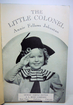 Little Colonel by Johnston (Shirley Temple) 1922