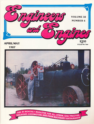 Engineers & Engines, April-May 1987