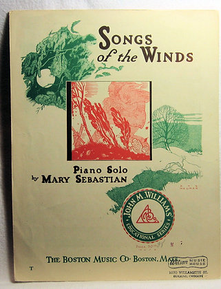 Songs of the Winds (Piano Solo) 1933