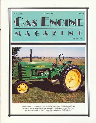 Gas Engine Mag.  October 1993