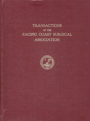 Pacific Coast Surgical 1972