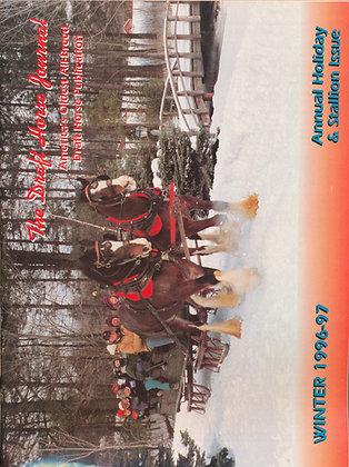Draft Horse Journal Winter 1996-97