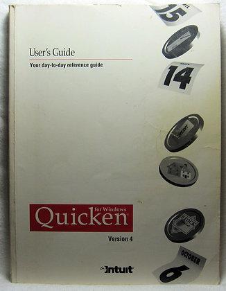 Quicken for Windows, Version 4 User's Guide