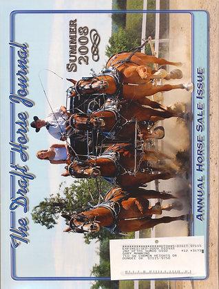 Draft Horse Journal Summer 2008