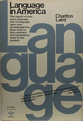 Language in America by Charlton Laird 1972