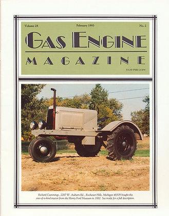 Gas Engine Mag.  February 1993