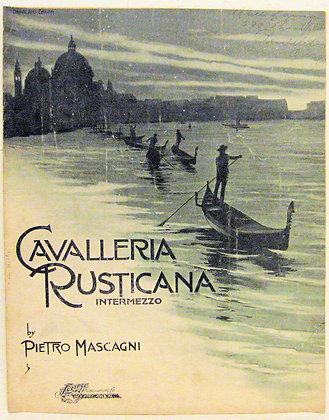 CAVALLERIA RUSTICANA INTERMEZZO 1902