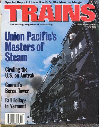 TRAINS, October 1996