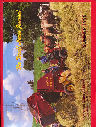 Draft Horse Journal Summer 1998