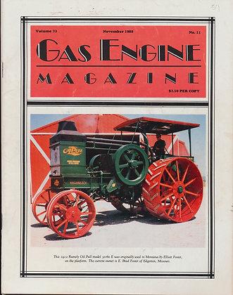 Gas Engine Mag.  November 1988