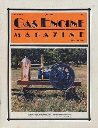 Gas Engine Mag.  June 1985